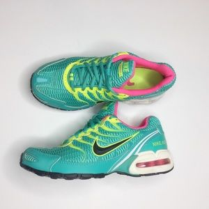 Nike Torch 4 tennis shoes Turquoise l neon yellow